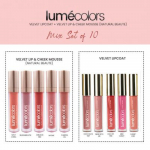 Lumecolors Natural Beaute 10pcs